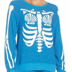 Wildfox Mermaid Skeleton Sweater